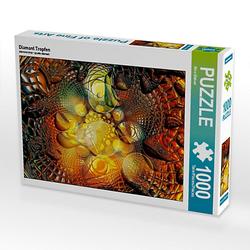Diamant Tropfen Lege-Größe 48 x 64 cm Foto-Puzzle Bild von Nico Bielow Puzzle