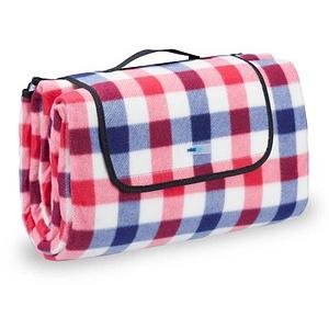 relaxdays Picknickdecke isoliert   mehrfarbig