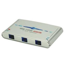 Lindy 32911 FireWire Hub - 3 Port IEEE1394b FireWire Repeater
