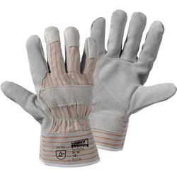 Worky L+D Fox 1519 Rindspaltleder Arbeitshandschuh Größe (Handschuhe): 9.5, L EN 388 CAT II 1 Paar