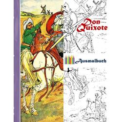 Don Quixote (Ausmalbuch): Buch von Luisa Rose