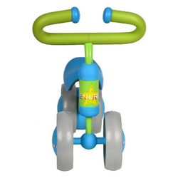 JOKA international Laufrad Laufrad in blau/grün Dino, Kinderlaufrad