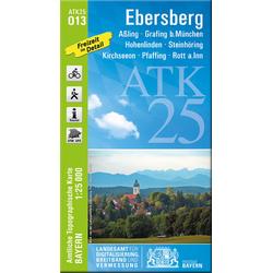 Ebersberg 1 : 25 000