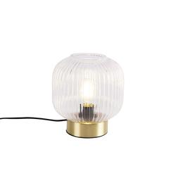 Art Deco Tischlampe Messing - Karel