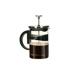 elasto Kaffeebereiter, 0.8l Kaffeekanne, Klassische Frenchpress 0,8 l Kaffeezubereiter aus Edelstahl & Glas hochwertiger Kaffeeaufbereiter Fränzösiche Kaffeepresse