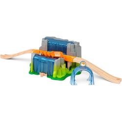 BRIO® Spielzeugeisenbahn-Tunnel Smart Tech Sound Wasserfall-Tunnel, für die Brio Eisenbahn