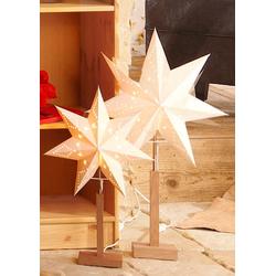 STAR TRADING LED Stern, Standleuchter 43 cm x 180 cm x 70 cm