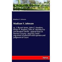 Madison Y. Johnson. Madison Y. Johnson  - Buch