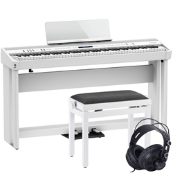 Roland FP-90X Stage-Piano Weiß Set