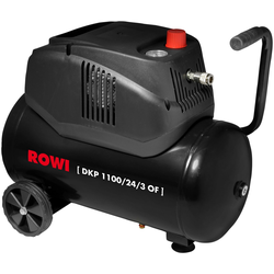 ROWI Kompressor 1100/24/3 OF, 1100 W, max. 8 bar, fahrbar