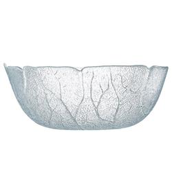 Luminarc Salatschüssel Aspen, Glas, Schale Salatschale Schüssel 23cm 2 Liter Glas transparent 1 Stück Ø 23 cm x 8.8 cm