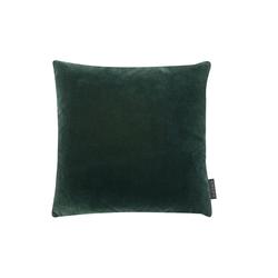 Magma Kissen Samt in grün, 40 x 40 cm