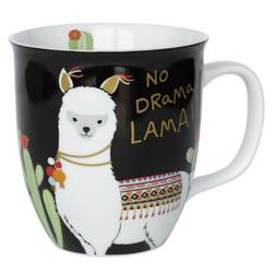 "Sheepworld Tasse Sheepworld - Tasse ""No Drama Lama"" 0,4l (45544) Geschenk- Büro- Kaffee- Tasse"