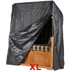 Strandkorb Schutzhaube Aero Protect dunkelgrau - Größe XL
