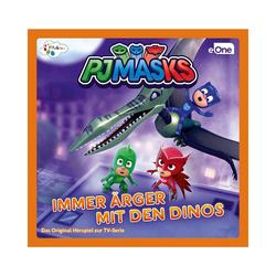 Just Bridge Entertainment Hörspiel CD PJ Masks - Ärger mit den Dinos