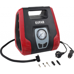 Eufab Kompressor Dual Power 8.3 bar, 25l/min, 12 V/230 V