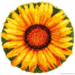 "Vervaco Knüpfteppich ""Sonnenblume"""