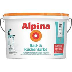Alpina Farben Wandfarbe Bad- und Küchenfarbe 559512 5l