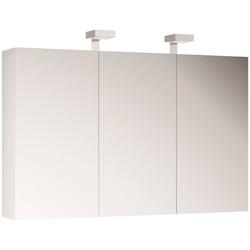 ALLIBERT Spiegelschrank , Breite 120 cm mit LED-Beleuchtung weiß