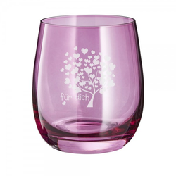 Lasergraviertes Glas klein