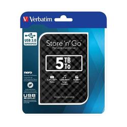 Verbatim Festplatte 5TB USB3.0 53227