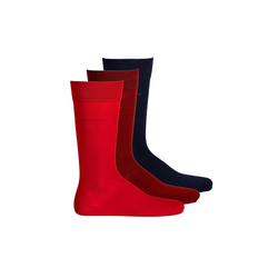 Gant Kurzsocken Herren Socken, 3er Pack - Soft Cotton Socks, bunt