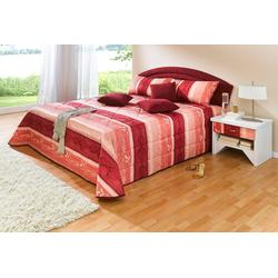 Westfalia Schlafkomfort Polsterbett rot 125 cm x 212 cm