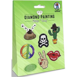 Diamond Painting Sticker 'Funny'