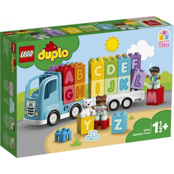 LEGO® Puzzle LEGO® Duplo® 10915 Mein erster ABC-Lastwagen, Puzzleteile