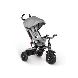 besrey Dreirad Dreirad ab 10 Monate mit schubstange Kinderdreirad Kinderwagen Kinder Fahrrad grau