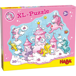 Haba Puzzle XL-Puzzle Einhorn Glitzerglück, Puzzleteile
