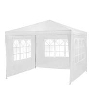 TecTake Pavillon 3,00 x 3,00 m inkl. 3 Seitenteilen