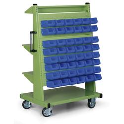Fahrbarer boxständer - leer