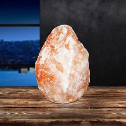 Salzkristallstein Tischlampe 17 x 30cm