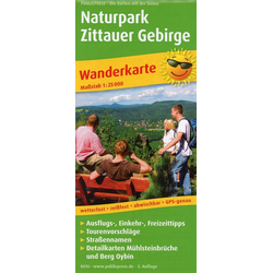 Naturpark Zittauer Gebirge 1:25 000