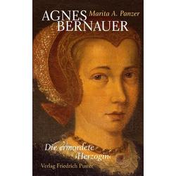 Agnes Bernauer als Buch von Marita A. Panzer