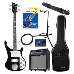 Rocktile Pro RB-400B Blackbird E-Bass Super Set