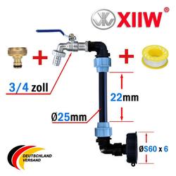 XIIW Container Details zu IBC Schwanenhals 3/4