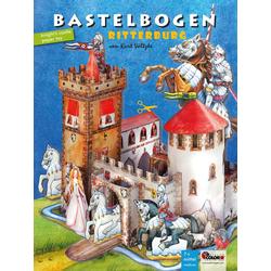 Ritterburg Bastelbogen
