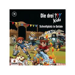 Die Drei ??? Kids - 078/Schrottplatz in Gefahr (CD)