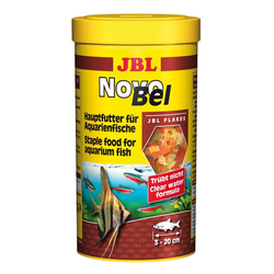 JBL NovoBel Hauptfutter-Flocken für alle Aquarienfische, 1000 ml