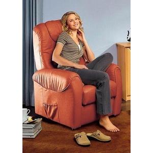sit&more TV-Sessel, wahlweise manuell verstellbar oder mit Motor und Aufstehhilfe rosa