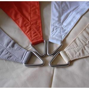 Dekowelten Luxus Terrassen Sonnensegel dreieck der ExtraKlasse 4,50m weiß Regenschutz wasserdicht