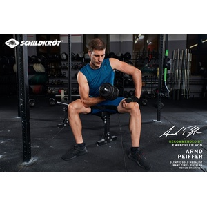 Schildkröt-Fitness Kurzhantelset 10 Kg im Koffer 960012
