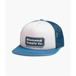Cap DIAMOND - Hardware Trucker Hat W/ Rope Navy (NVY) Größe: OS