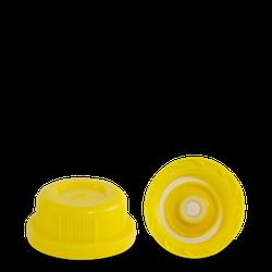 Entgasungsverschluss - gelb - DIN 45 Gewinde