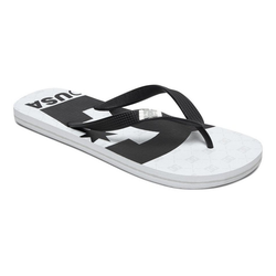 DC Shoes Spray Graffik Sandale weiß 11(44,5)