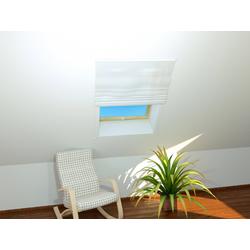 HECHT Insektenschutz-Dachfenster-Rollo BASIC, weiß/weiß, BxH: 110x160 cm weiß Dachfenster