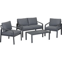 TrendLine Lounge-Set Rovigo inkl. Sitz- und Rückenkissen