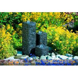Ubbink Gartenbrunnen Modena, 36 cm Breite, Wasserbecken BxT: 68x68 cm, (Komplett-Set)